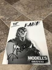 KANE WWE SIGNED AUTOGRAPHED 8X10 PHOTO MAYOR OF TENNESSEE