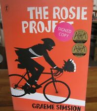 The ROSIE Project ~  Graeme SIMSION sc SIGNED! Poignant FUNNY  REAL!   in MELB!