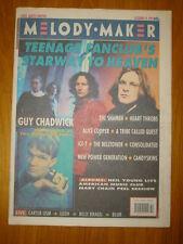 MELODY MAKER 1991 OCT 19 TEENAGE FANCLUB SHAMEN BLUR
