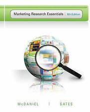 Marketing Research Essentials by Carl, Jr. McDaniel and Roger Gates (2012,...
