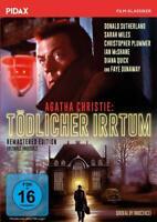 Donald Sutherland -  Agatha Christie: Tödlicher Irrtum - Remastered DVD NEU OVP