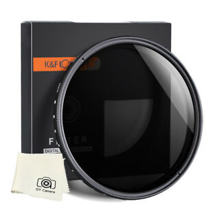 K&F Concept Lens Filter Neutral Density ND2 to ND400 72mm Nikon Z 24mm F1.8
