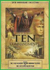 The Ten Commandments (1956) -Charlton Heston, Yul Brynner, Anne Baxter- NEW DVD