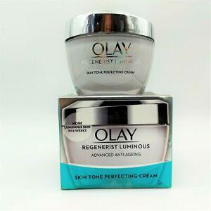 Olay Regenerist Luminous Advanced Anti-Ageing Cream 50ml -NEW- Damaged Box #3564