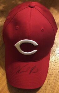 Willy Mo Pena autograph signed Cincinnati Reds MLB Hat - Yankees, Red Sox