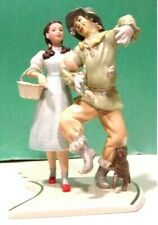 Lenox In Search Of The Wizard Scarecrow Dorothy sculpture New in Box with Coa