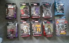 Marvel Legends 6 inch Mixed Lot Of 10 Figures Iron Man Ultron Star Lord NiB