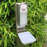 Aluminium Desinfektionsmittelspender 1000ml Hygienespender Desinfektionsspender