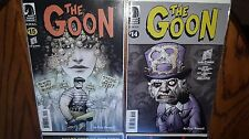 "Eric Powell Autographed Comics ""The Goon"" And ""Spook House"" and Promo Postcard"