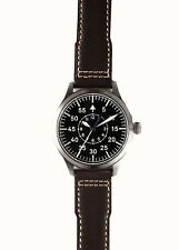 Japan NH35 Mens Wrist watch German Big Pilot Sapphire Luminous B-Uhr WW2 Heated