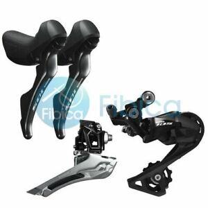 New Shimano 105 R7000 Drivetrain Groupset Front Rear Derailleur Shifters