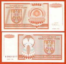 Pr17 croatia/croacia krajina 1 millones dinara UNC