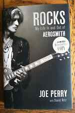 Joe Perry Rocks My Life In And Out Of Aerosmith Hardcover - Autographed Copy