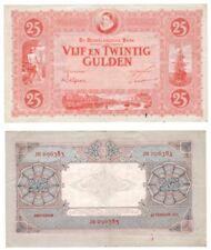 Netherlands 25 Gulden Banknote (1930) P.46 - VF/VF+