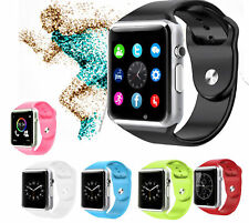 Sim Card Smart Watch phone w/Camera for Android Samsung LG iPhone ios Fitness