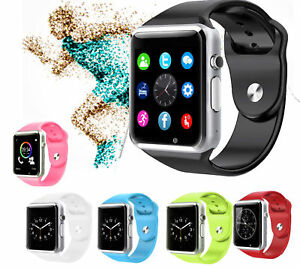 Sim Card Smart Watch phone w/Camera for Android LG  ios Fitness