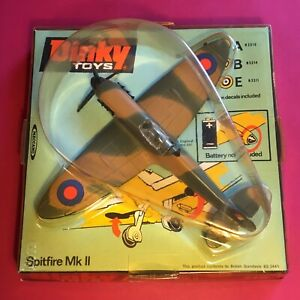 DINKY 719 - SUPERMARINE SPITFIRE MK 2 - 1973 ISSUE MINT COMPLETE