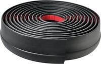 002/61mm Black Car Body Door Bumper Protector Moulding Strip MC17/10
