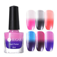 UR SUGAR 6ml Thermal Nail Polish Color Changing Temperature Nail Art Varnish DIY