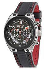 Sector Urban SK-Eight Men's Watch r3271177025 Analogue Chronograph Textile Dark
