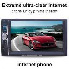 6.6'' For Car DVD Player Bluetooth MP3 MP4 FM Audio Video USB Rearview Camera