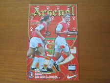 Arsenal v Crystal Palace - FA Cup 5th Round - Season 1997 - 98 (VGC).