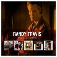 RANDY TRAVIS - ORIGINAL ALBUM SERIES 5 CD NEW
