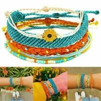 Pack Bracelet Outloud String Dreaming Handmade Waterproof Sunflower Gifts