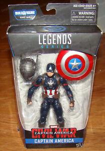 Captain America Civil War (Marvel Comics, Hasbro) Legends Series, 60831
