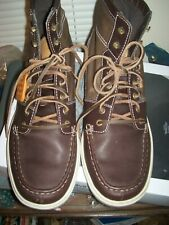 Timberland Earth Keepers / Earthkeepers Moc Toe Lace Up Boots Sz 11.5 M  SEE DES
