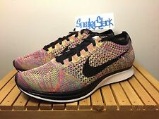 2013 Nike Flyknit Racer Multicolor 1.0 MC Black Tongue OG Mens US Size 8 BNIB
