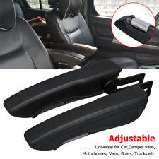2X Universal Adjustable Comfort Seat Armrest Fit For Truck Boat Camper Van AU