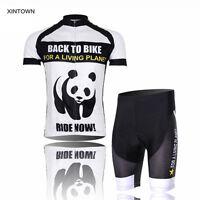 XINTOWN Team Panda Cycling Jersey Bicycle Bike Clothing Cycle Gear (BIB) Shorts