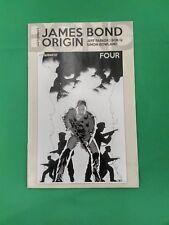 James Bond Origin #4 1:10 John Cassaday Black & White Variant