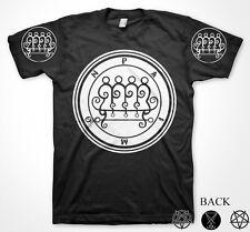 Paimon King Goetia Demon Seal Hell Pentagram Occult Lucifer T-Shirt