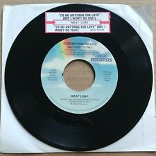 """Meat Loaf I'd Do Anything For Love 45 7"""" Record Vinyl Pop Rock Mca Records 1993"""
