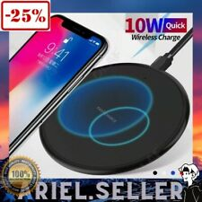Fast Wireless Charger Charging Pad For Apple iPhone XS Max Xr X 11 Plus Samsung