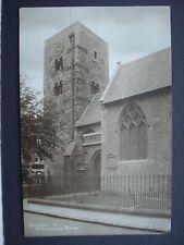 Vintage Unused Black & White Post Card St Michael's Tower Oxford