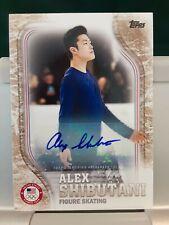 2018 Topps United States Olympic Team Alex Shibutani Auto /25