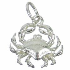 Cancer Crabs Zodiacs Zodiac Charms Bj2128 Crab sterling silver charm .925 x 1