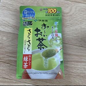 ITOEN OI-OCHA Japanese Green Tea with Matcha 80 g 100cups FedEx Ship New F/S