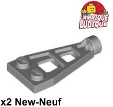Space Wing NEUF NEW gris 4 x LEGO 4596 Plaque Aile Plate 1x2 with Long Stud