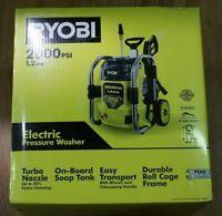 (RI4) Ryobi RY142022VNM 2000 PSI 1.2 GPM Cold Water Electric Pressure Washer