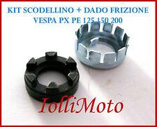 KIT SCODELLINO E DADO FRIZIONE VESPA PX 125 150 200 PE COSA T5 SUPER RALLY PK
