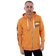 Superdry Hombre Sudadera Jersey Naranja larga 20895-45