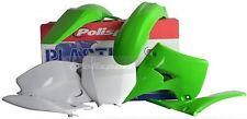 Plastic Kit Polisport Color 90090 for Kawasaki KX125 2003-2005 KX250 2003-2007