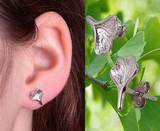 Ohrringe ohrstecker 925 Silber Gingko Blatt Stecker Baum des Lebens HJJF25