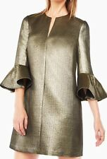 New without tag $368 BCBG Max Azria Judy Metallic B2135 Dress Sz Xs