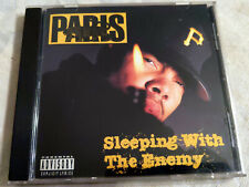 Bay Area Rap CD PARIS - Sleeping With The Enemy - SCARFACE RECORFS 1992 OG Ex