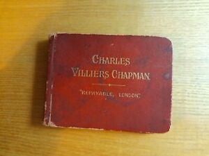 Charles Villiers Chapman Turf Accountant 1913 Edition